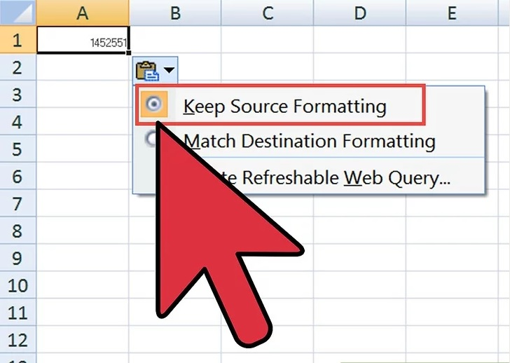 Create a linked Excel table